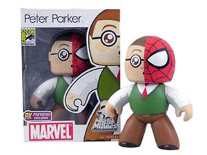 SDCC 2008 Mighty Muggs - Peter Parker