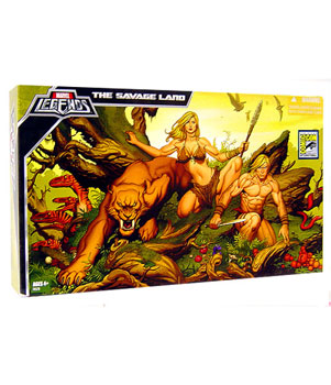SDCC 2008 The Savage Land Box Set - Ka-Zar, Shanna, Zabu