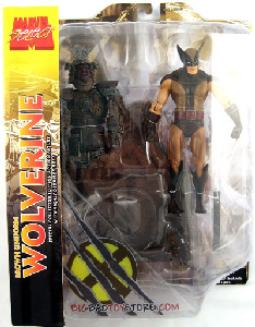 Marvel Select Brown Costume Wolverine Exclusive