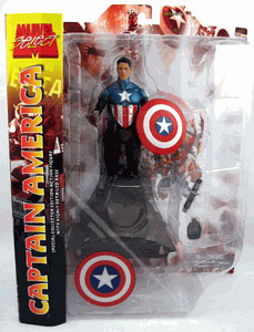 Marvel Select - New Captain America Un-Masked Variant