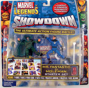 Showdown - Mr Fantastic Vs MoleMan Starter Set