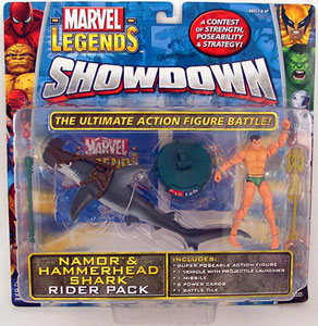 Showdown - Namor and Hammerhead Shark Rider Pack