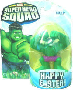 Super Hero Squad - Happy Easter Hulk