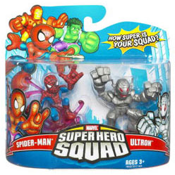 Super Hero Squad - Spider-Man and Ultron