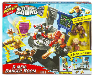 Super Hero Squad Playset - X-Men Danger Room [Sabretooth, Wolverine]