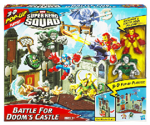 Super Hero Squad Playset - Battle For Doom Castle [Iron Man, Dr Doom]