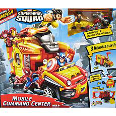 Super Hero Squad Squad Mobile Command Center with Wolverine