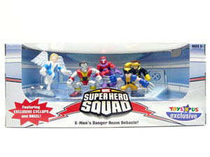Super Hero Squad - X-Men Danger Room Debacle