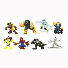 Super Hero Squad Collector Pack 2 - Professor X - Kitty Pryde, Juggernaut,