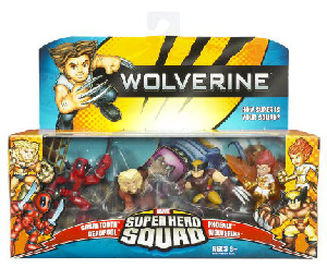 Wolverine Super Hero Squad: Wolverine The Uncanny X-Men