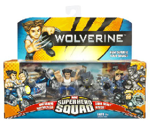 Wolverie Super Hero Squad: Wolverine Doom of the Dark Beast
