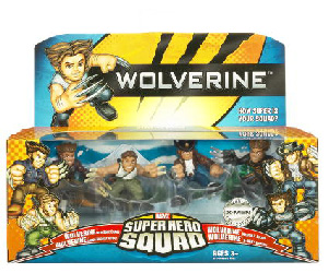 Wolverine Super Hero Squad: Wolverine Evolution Pack
