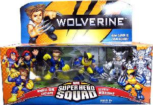 Wolverine Super Hero Squad: X-Cutioner Song Pack[Marvel Girl, Cyclops, Wolverine, Stryfe