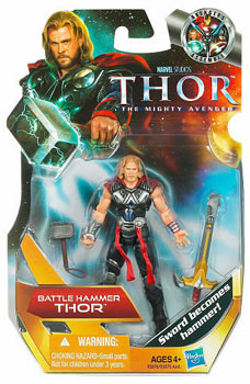 Thor Movie - 3.75-Inch Battle Hammer Thor