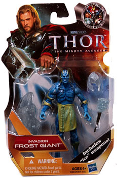 Thor Movie - 3.75-Inch Invasion Frost Giant