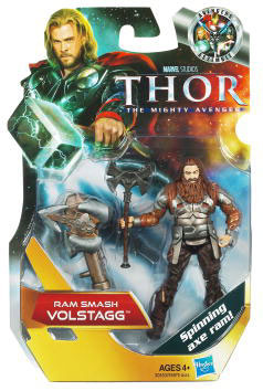 Thor Movie - 3.75-Inch Ram Smash Volstagg