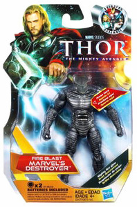 Thor Movie - 3.75-Inch Fire Blast Destroyer