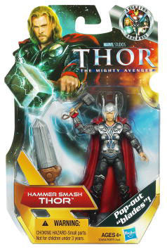 Thor Movie - 3.75-Inch Hammer Smash Thor