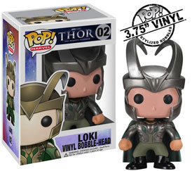 Thor Movie Marvel Pop - 3.75 Vinyl Loki