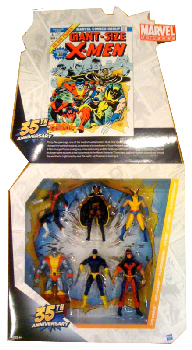 Marvel Universe - Exclusive Giant-Size X-Men 35th Anniversary Box Set
