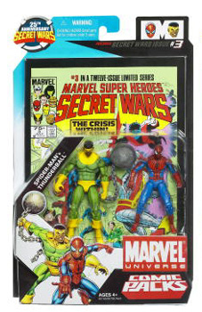 Marvel Universe Comic Pack - Spider-Man and Thunderball