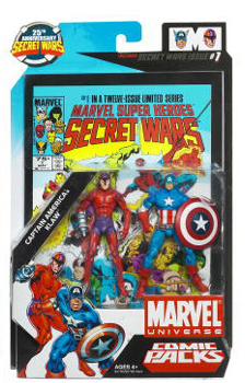 Marvel Universe Comic Pack - Captain America and Klaw