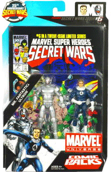 Marvel Universe Comic Pack - Mr Fantastic and Ultron