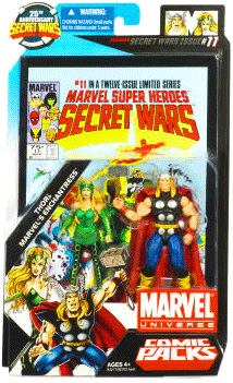Marvel Universe Comic Pack - Thor and Enchantress