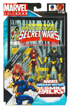 Marvel Universe Comic Pack - Phoenix and Cyclops