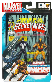 Marvel Universe Comic Pack - Dark Reign Spider-man and Wolverine