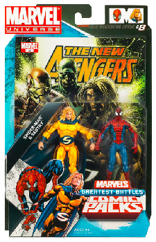 Marvel Universe Comic Pack - Spider-Man and The Sentry
