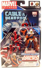 Marvel Universe Comic Pack - Deadpool and Taskmaster