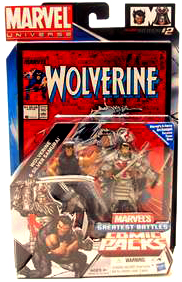 Marvel Universe Comic Pack - Wolverine and Silver Samurai