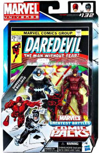 Marvel Universe Comic Pack - Bullseye and Daredevil