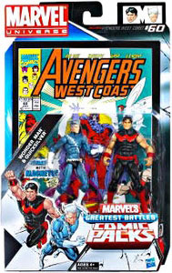 Marvel Universe Comic Pack - Wonder Man and Quicksilver