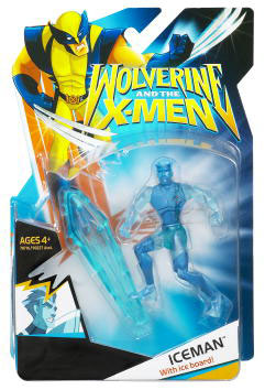 Wolverine and The X-men: Iceman Translucent Clothing
