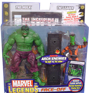 Marvel Legends Face-Off 2-Pack: Hulk Vs Leader Variant