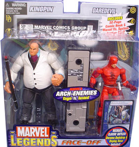 Kingpin Vs. Daredevil Face-Off