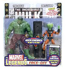 Hulk Vs. The Leader Face-Off