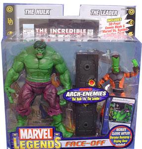 Marvel Legends Face-Off 2-Pack: Hulk Vs Leader Variant