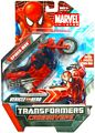 Marvel Transformers Crossovers - Spider-Man Red Motorcycle