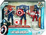Captain America First Avengers - 3-Pack The International Pat