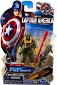 Captain America First Avengers - 3.75-Inch Hydra Attack Trooper Light Green and Yellow
