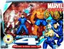 Marvel Super Hero Team Pack - Fantastic Four - CLEAR Invisible Woman, The Thing, Mr Fantastic, H.E.R.B.I.E