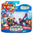 Super Hero Squad - Thor and Spider-Man