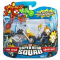 Super Hero Squad - Ghost Rider and Flame Cycle