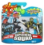 Super Hero Squad - Black Suited Spider-Man and Ronin