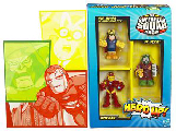 Super Hero Squad - Hero Up - SDCC 2010 Exclusive - IRON MAN, DR. DOOM and MAYOR