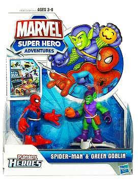Marvel Super Hero Adventures - Spider-Man and Green Goblin