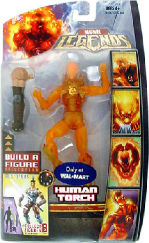Hasbro Marvel Legends Ares - Human Torch